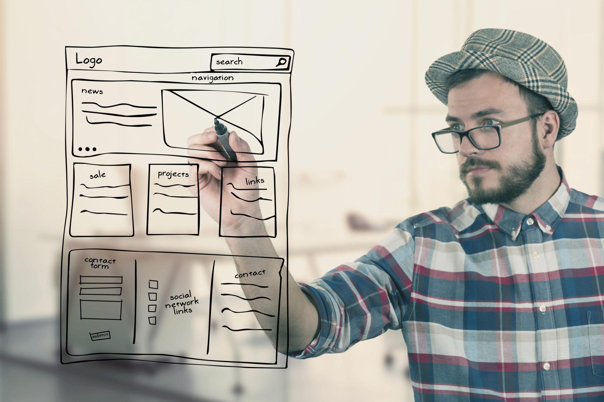 Ako zhotoviť novú web stránku?